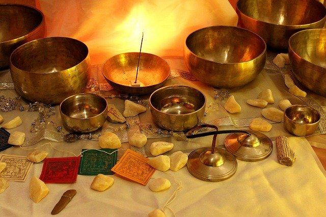 tibetské misky